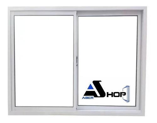 Imagen 1 de 8 de Ventanas Aluminio 150x110  Vidrio Entero Promo Abershop