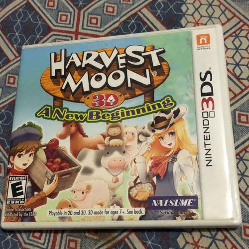 Harvest Moon A New Beginning Jogo Nintendo 3ds