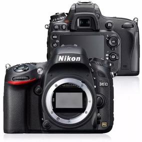 Camera Nikon Dslr D610 (corpo)c/ N.fiscal E Seguro Envio