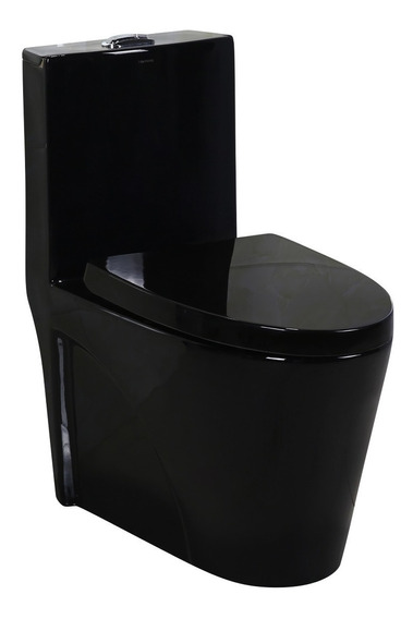 Vaso Sanitário Monobloco Harmony 8018b Preto