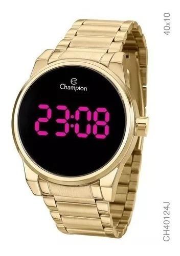Relógio Champion Feminino Dourado Rosa Ouro 1 Ano Garantia