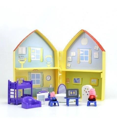 Peppa Pig Casa Mobiliada Pronta Entrega