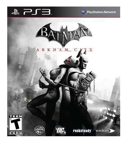 Batman Arkham City | Ps3 / Playstation 3 M. Fisica