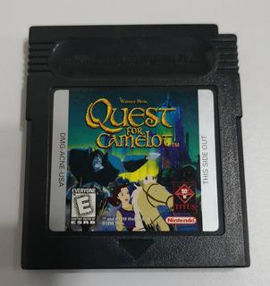 Quest For Camelot Game Boy Color Gbc