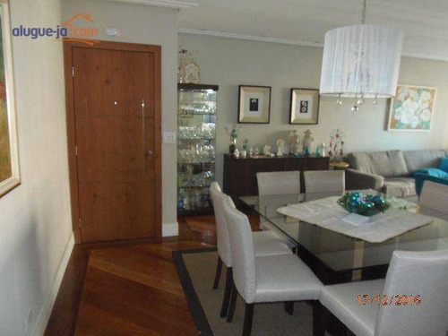 Apartamento Com 4 Dormitórios, 180 M² - Venda Por R$ 1.250.000,00 Ou Aluguel Por R$ 9.000,00/mês - Jardim São Dimas - São José Dos Campos/sp - Ap5493