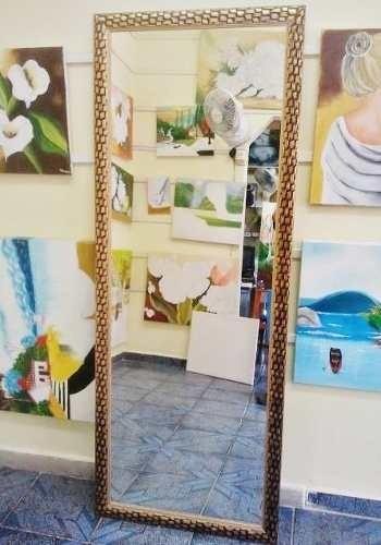 Espelho Grande 170x70cm C/moldura Entrego Só Na Gd S Paulo