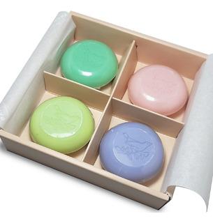 Caja De Mini Jabones X4