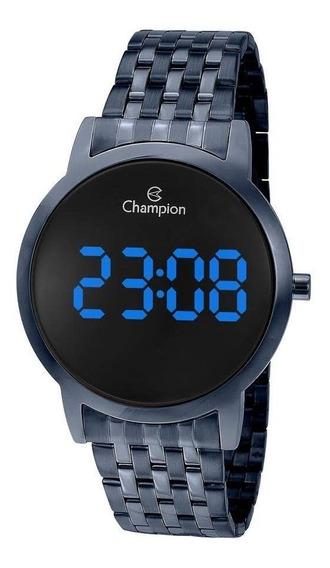 Relógio Champion Ch40099a Digital Led Azul