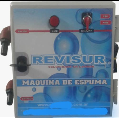 Maquina De Espuma Revisur Para Lava Autos