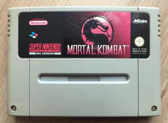 Mortal Kombat 1 Fita Snes Nintendo 100% Original