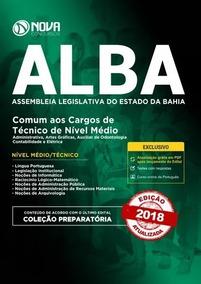 Apostila Alba 2018 - (comum) Técnico De Nível Médio