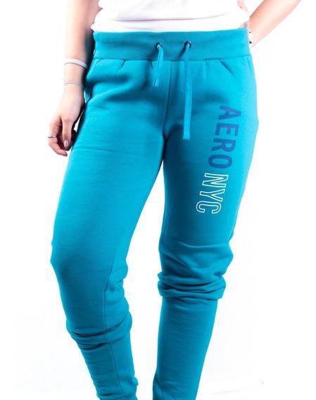 Pantalon Aeropostale Joggings Friza Estampa 23 St Mujer Aero