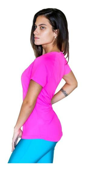 Kit 5 Blusas Dry Fit 100% Poliamida Corrida Academia Fitness