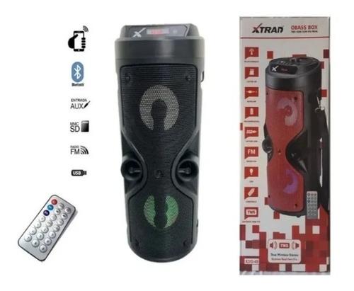 Caixa De Som Bluetooth 12w Obass Box Xtrad Xdg-49