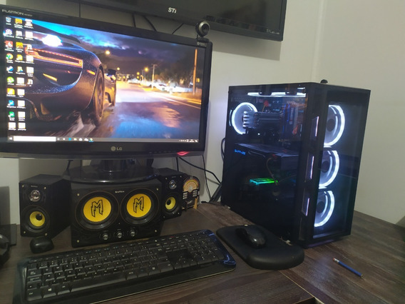 Pc Gamer C/ Monitor De 23