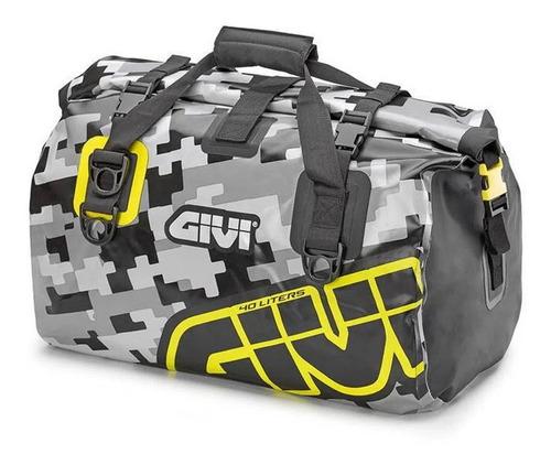 Bolsa Givi Ea115cm Impermeável 40 Litros Camuflada Para Moto
