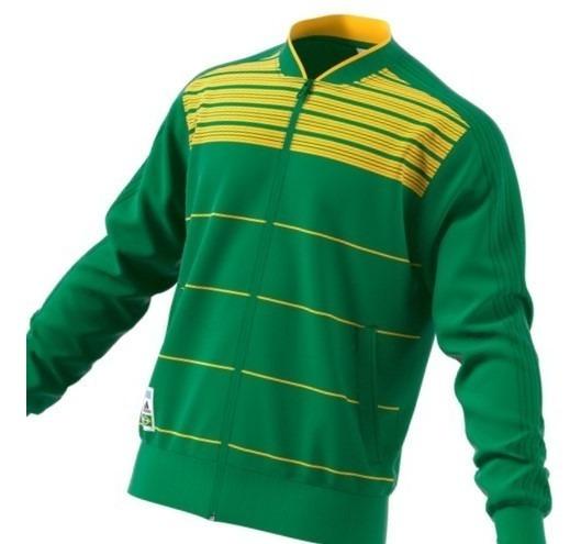 Jaqueta Brasil adidas Verde E Amarelo