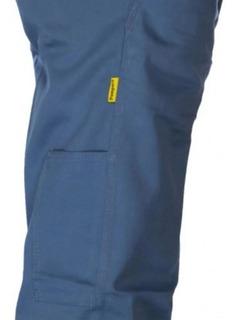 Pantalon Pampero Para Trabajo Original Clasico Azulino