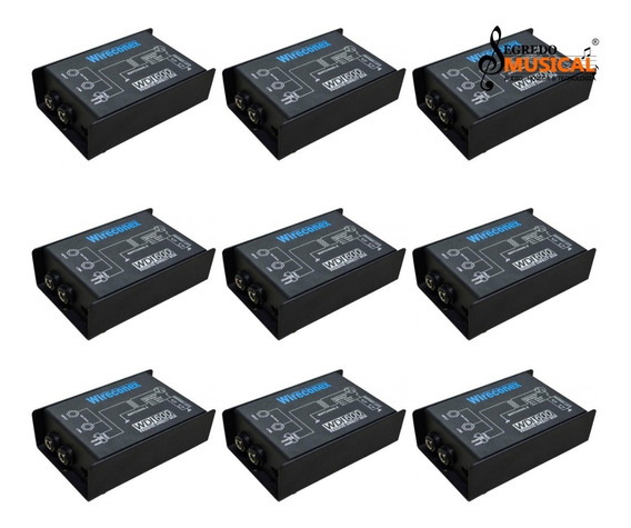 9 Direct Box Wireconex Wdi 600 Passivo Material Em Metal