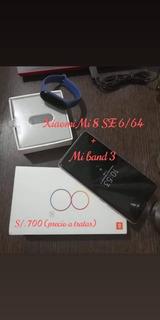 Xiaomi Mi 8 Se + Mi Band 3