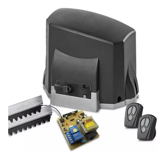 Kit Motor Portão Eletrônico Deslizante Kdz Fit 1/4 Hp Garen