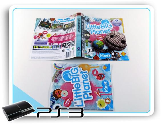 Encarte E Manual Little Big Planet Origin. Playstation 3 Ps3