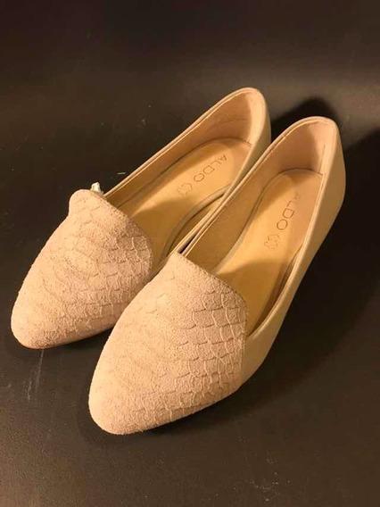 Zapato Nuevo Mujer Dama Moda Flats Marca Aldo 4 Mex