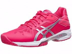 Tenis Asics Gel Solution Speed ¿¿3 Rosa Para Tenis