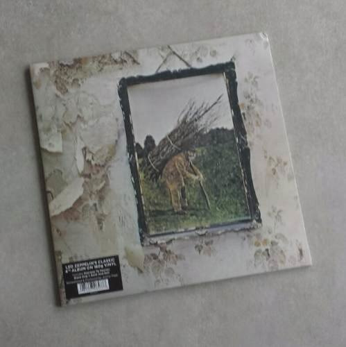 Vinil Lp Led Zeppelin Iv 180g Remasterizado Lacrado