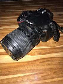 Câmera Nikon D5200 Full Hd Usada+lente 18-55mm-15599 Clicks