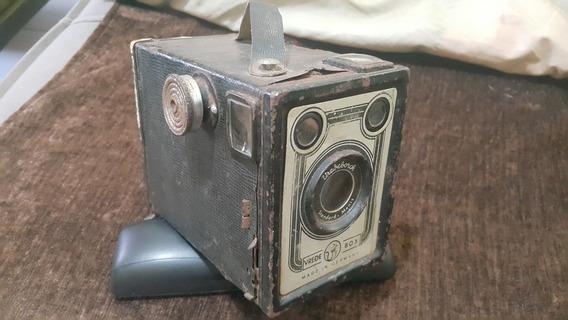 Câmera Alemã Antiga 1950 Vrede Box Vredeborch Standard Menis