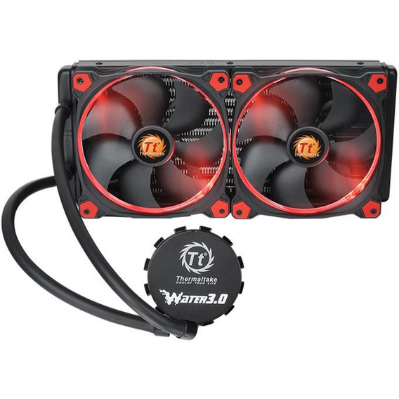 Water Cooler 3.0 Riing Red 280 All In One Lcs Thermaltake