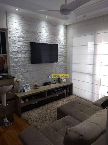 Imagem 1 de 18 de Apartamento Com 2 Dormitórios À Venda, 70 M² Por R$ 475.000,00 - Independência - São Bernardo Do Campo/sp - Ap2091