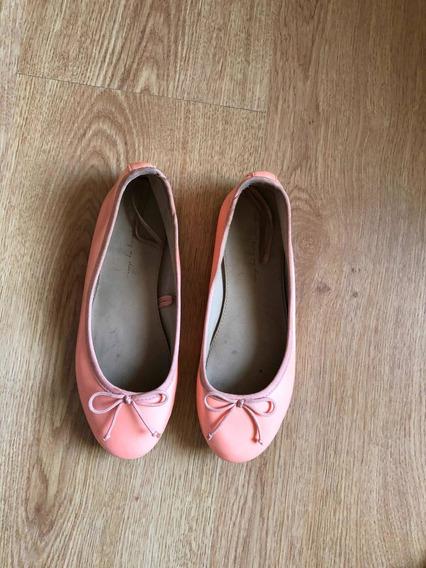 Zapatos De Nena Chatitas Balerinas Zara Girls T 32