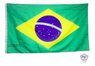 Bandeira Brasileira Brasil 90x150cm 1 Lado Poliéster