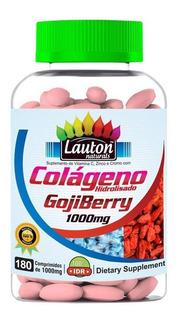 Colageno Hidrolisado Com Goji Berry 1000 Mg 180 Caps