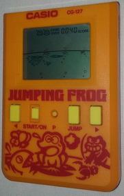 Game&watch Portátil Casio Jumping Frog Cg-127 Funciona