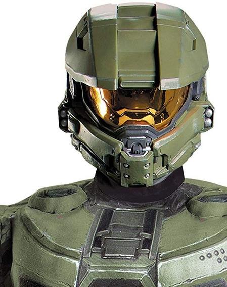 Casco Para Disfraz Adulto Halo Master Chief Original