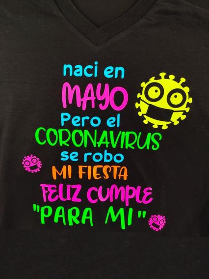 Camisetas Coronavirus Personalizadas !!