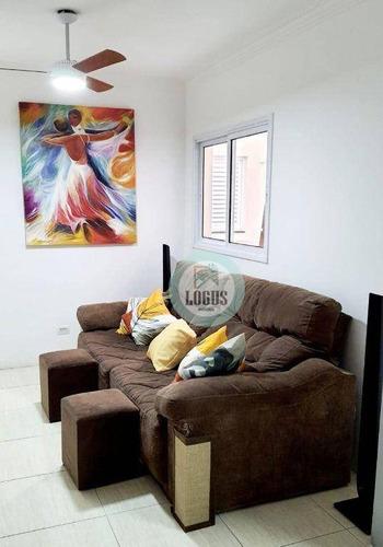 Imagem 1 de 29 de Apartamento Com 2 Dormitórios À Venda, 67 M² Por R$ 365.000,00 - Jardim Bela Vista - Santo André/sp - Ap1827