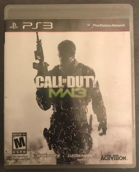 Jogo Call Of Duty Modern Warfare 3 Ps3