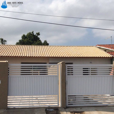 Lindas Casas Com Piscina Em Peruíbe, Novas - 2909