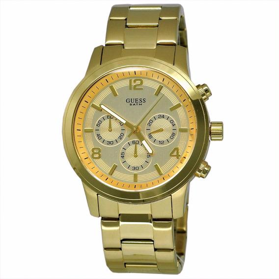 Relógio Guess Original W14043l1 W14043 Dourado