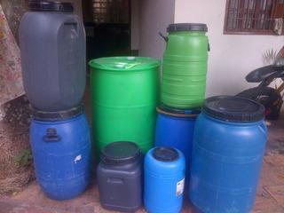 Pipote ,tambor De Plastico De 35lts En Adelante