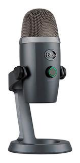 Microfono Condensador Blue Yeti Nano De Estudio Podcast Gtia