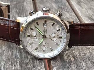 Reloj Jacques Lemans - Auto - Valjoux 7750 - Zafiro - 100 M
