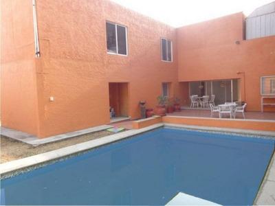 Bonita Casa En Un Solo Nivel,en Lomas Tetela, Cuernavaca Mor