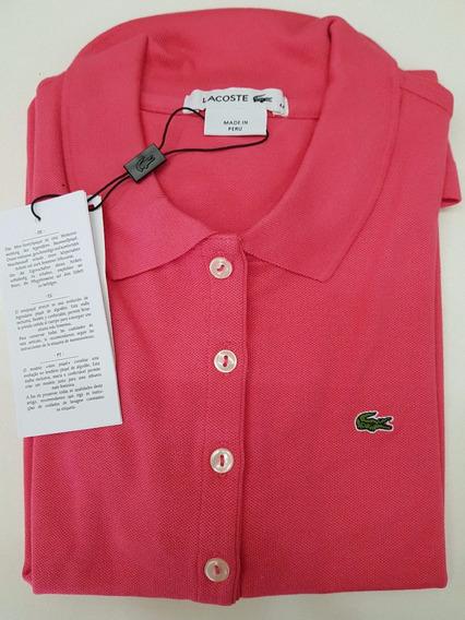 Camisa Polo Lacoste Feminina Original C/ Nf - Promoção