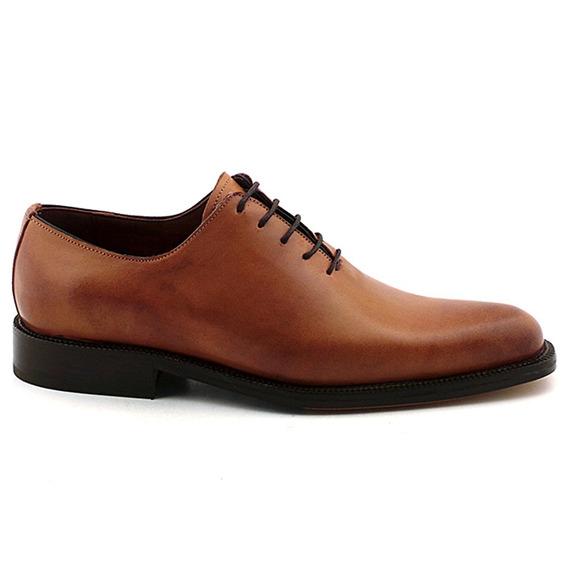 Zapato Hombre Vestir Acordonado Cuero Briganti - Hcac00836