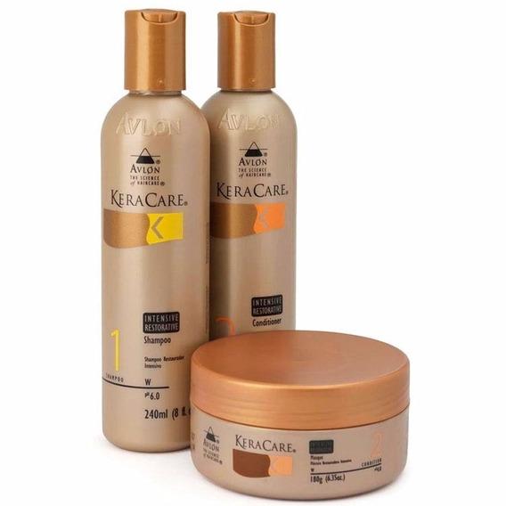 Avlon Restorative Shampoo Condicionador Máscara + Brinde
